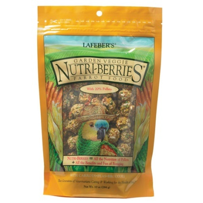 Gourmet Garden Veggie Nutri-Berries for Parrots 284g [야채곡물펠렛 모든앵무용]